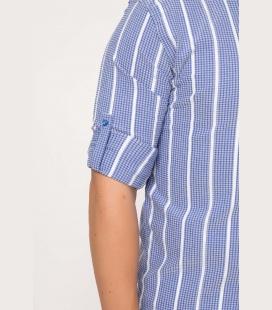 Boyuna-199izgi-Desenli-Polo-Yaka-Slim-Fit-Tis246rt-Beyaz-402986-113