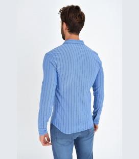 Basic-Bisiklet-Yaka-Beyaz-Erkek-T-Shirt-TMY-1254
